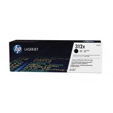 HP 312X Yüksek Kapasiteli Siyah Orijinal LaserJet Toner Kartuşu